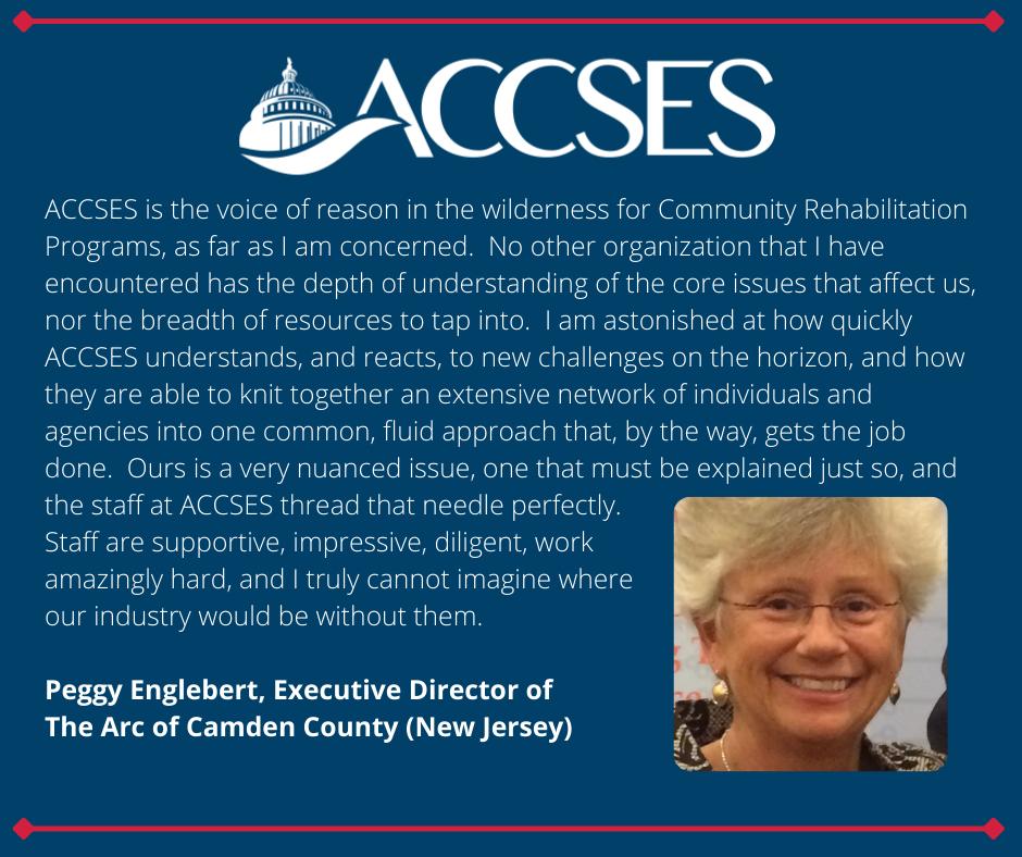 Testimonial from Peggy Englebert